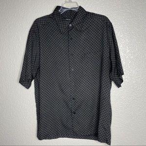 Men's Silk Claiborne Shirt Large